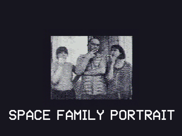 Space Family Portrait