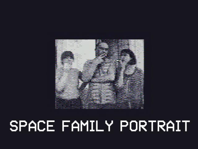 Space Family Portrait