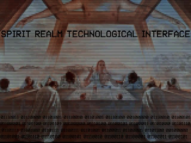 spirit realm technological interface