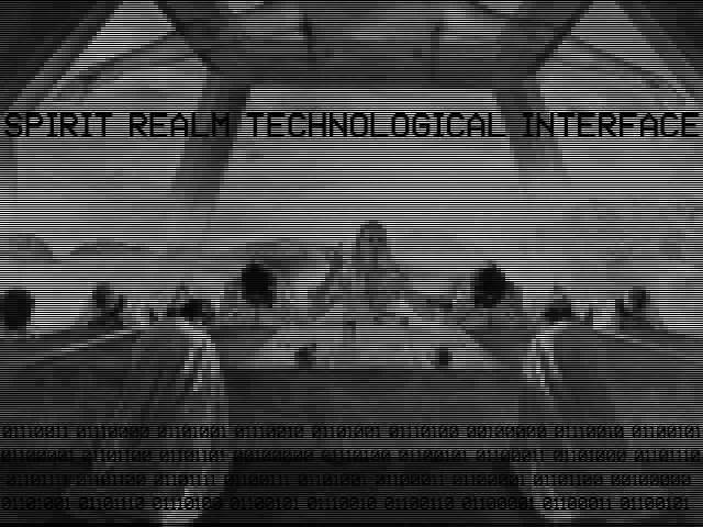 spirit realm technological interface