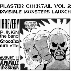 Flyer Design for Plaster Cocktail