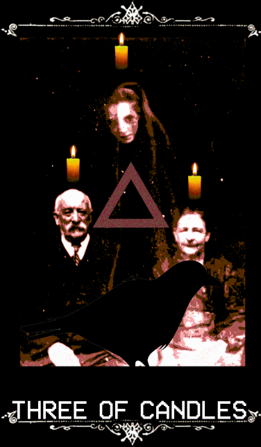 three of candles